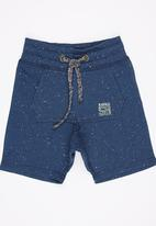 See-Saw - Applique Shorts Navy