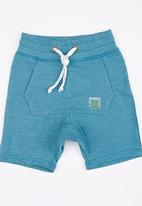 See-Saw - Applique Shorts Blue