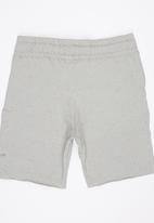 Rebel Republic - Shorts with Raw Edge Detail Grey