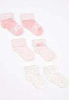 Soobe - Girls Socks Pale Pink