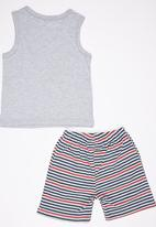 See-Saw - Vest and Short Pyjama Set Grey