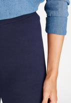 c(inch) - Plain Leggings Navy
