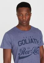 St Goliath - Poco Loco T-Shirt Navy
