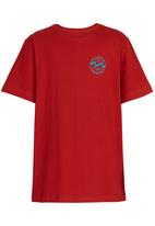 Billabong  - Double Waves  Tee Red