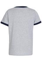 Quiksilver - Delaware Ringer   Boys Tee Grey