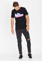DC - Funrow T-Shirt Black