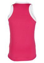 Lithe - Poly Spandex Vest Dark Pink