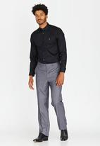 POLO - Custom fit Greig shirt - black
