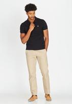 POLO - Classic Golfer Black