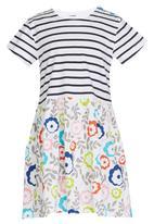 POP CANDY - Girls  Stripe  Dress Multi-colour