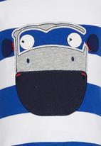POP CANDY - Printed Tee Blue