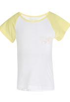 See-Saw - Raglan Sleeve Tee Yellow
