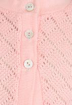 See-Saw - Knitted Cardigan Pale Pink