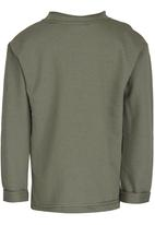 See-Saw - Sweater with Pocket Khaki Green