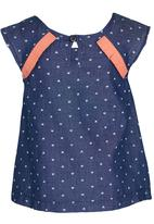 See-Saw - Chambray Top Multi-colour