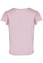 See-Saw - Front Tie Top Pale Purple