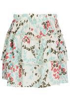 See-Saw - Ruffle Hem Skirt Multi-colour