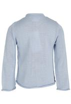 See-Saw - Knitted Cardigan Pale Blue