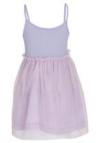 See-Saw - Mesh Skirt Dress Pale Purple