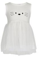 POP CANDY - Girls  Summer Dress White