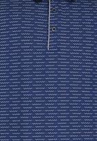 Retro Fire - Boys Golfer Blue