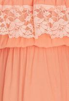 Rebel Republic - Boho Lace Dress Orange