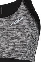 Lithe - Sports Bra Black and Grey
