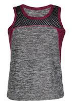 Lithe - Poly Spandex Vest Grey
