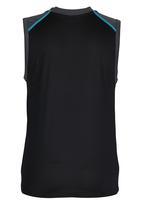 Lithe - Spandex Vest Black