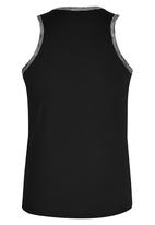 Lithe - Poly Spandex Vest Black