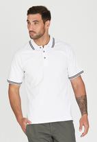 JEEP - Short Sleeve Plain Golfer White