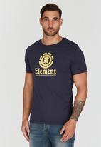 Element - Vertical Short Sleeve T-Shirt Dark Blue