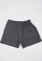 Lithe - Fleece Shorts Dark Grey