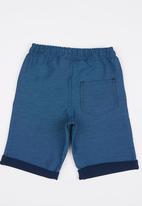 POP CANDY - Boys Techno Denim Shorts Blue