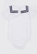 POP CANDY - Printed Bodysuit White