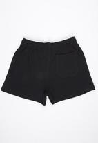 Lithe - Fleece Shorts Black