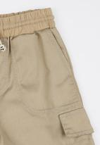 See-Saw - Pull On Twill Shorts Stone