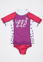 Lizzy - Rashvest Set Mid Purple