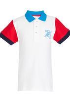 POP CANDY - Golf Tshirt  White