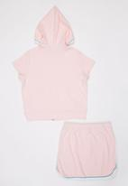 POP CANDY - Girls Top And Skirt Set Mid Pink