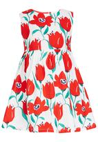 POP CANDY - Girls Printed Dress Multi-colour