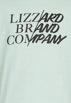 Lizzard - Printed T-Shirt Light Green