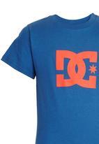 DC - Star Standard  Tee Mid Blue