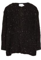 See-Saw - Boucle Knit Cardigan Black