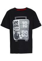 Lee  - Muscle Box  Tee Black
