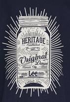 Lee  - Jam Jar Print Tee Navy