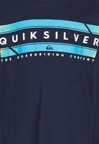 Quiksilver - Cosmic  Tods  Tee Navy