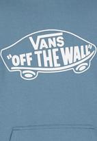 Vans - Printed Hoodie Blue