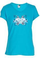 Roxy - Island Vibes Tee Mid Blue
