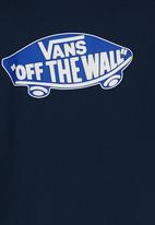 Vans - Short Sleeve Printed Tee Navy
